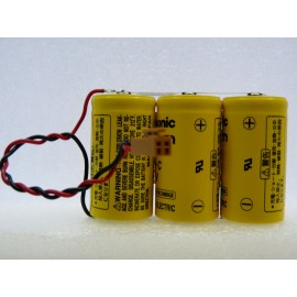 CHRONO PACK Pile Lithium BR C + Connecteur JAE - 3V - 15000mAh - IC693ACC302A