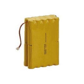 CHRONO Batterie Alarme Compatible Atral Logisty BATNIMH8 - 12.0V - 8000mAh + Connecteur