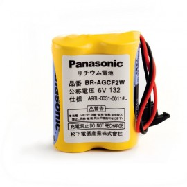 PANASONIC PACK Pile Lithium BRA - 6V - 1800mAh + connecteur noir A98L-0031-0011