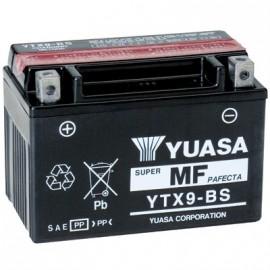 YUASA Batterie Moto YTX9-BS/GTX9-BS avec pack acide - 12V – 8Ah