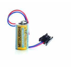 CHRONO Pile lithium ER17335 / ER17330 - 3.6V - 2100mAh + Connecteur