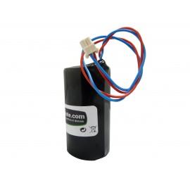 CHRONO Pile Batterie Alarme Compatible VISONIC - D - LSH20 - 3,6V - 13,0Ah + Connecteur Sirène MCS 710 / MCS 720
