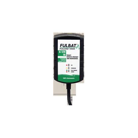 Chargeur batterie moto FULLOAD 1000 - FULBAT - 6/12V - Compatible Lithium